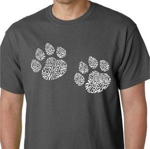 "L.A. Pop Art NWT ""MEOW"" cat paw print graphic"